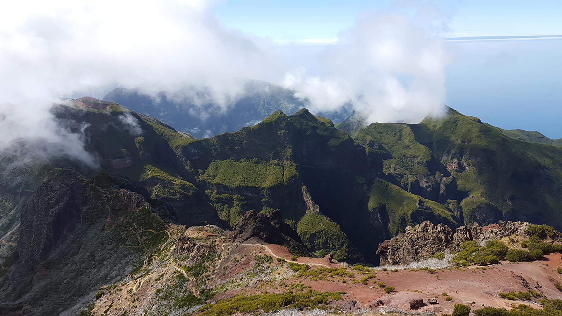 Panorama da Pico Ruivo