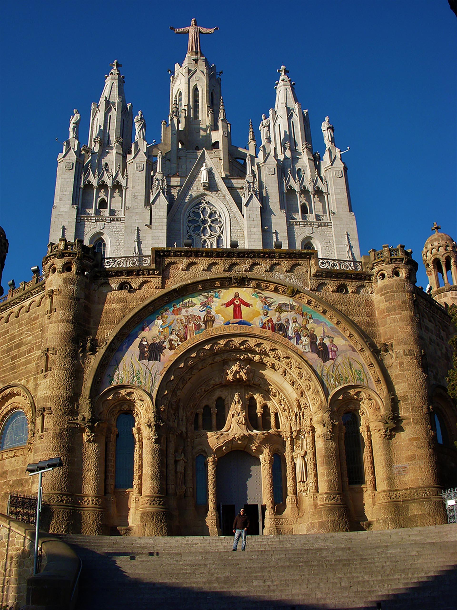 Chiesa del Sacro Cuore sul monte Tibidabo, Barcellona