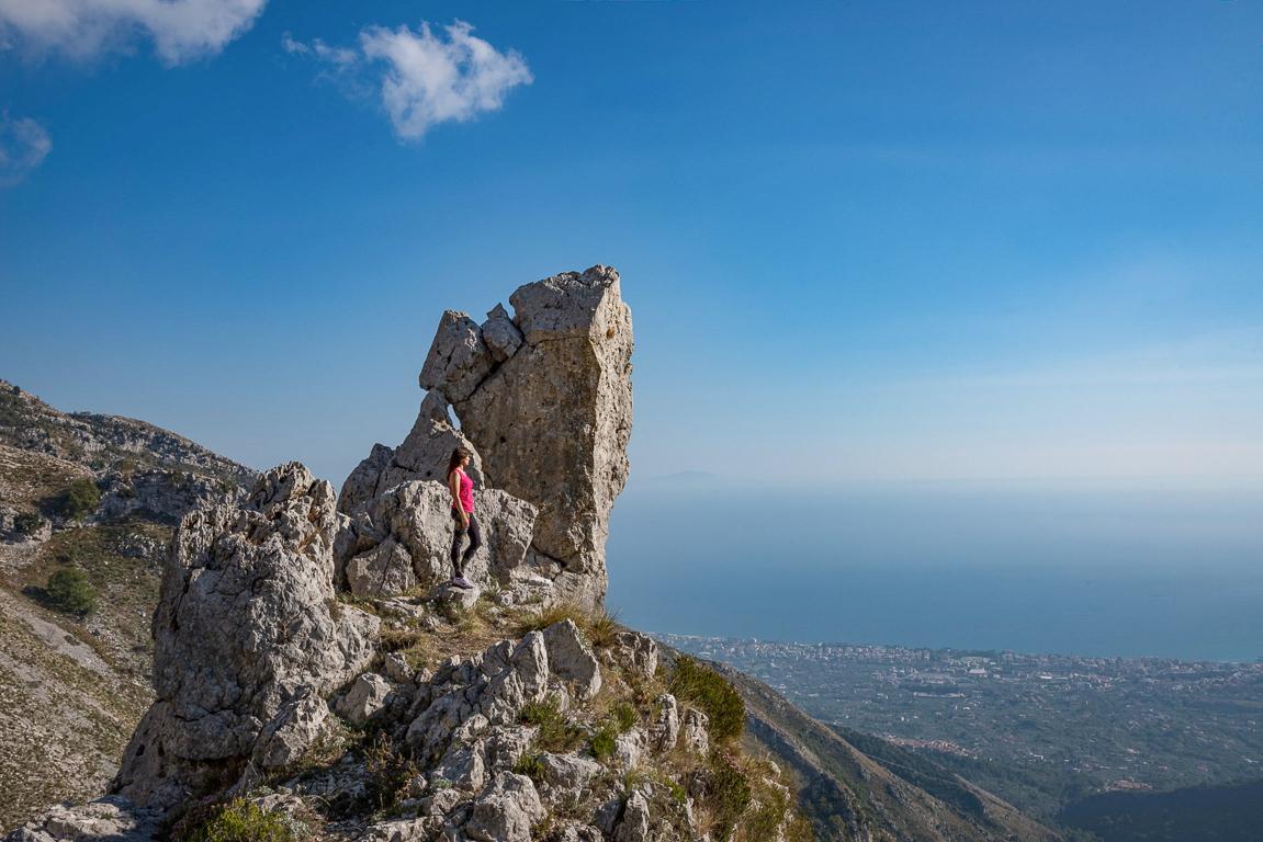Roccia Spaccata - Parco dei Monti Aurunci