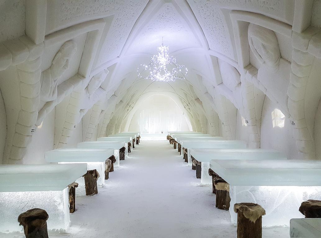 Castello di ghiaccio a Kemi