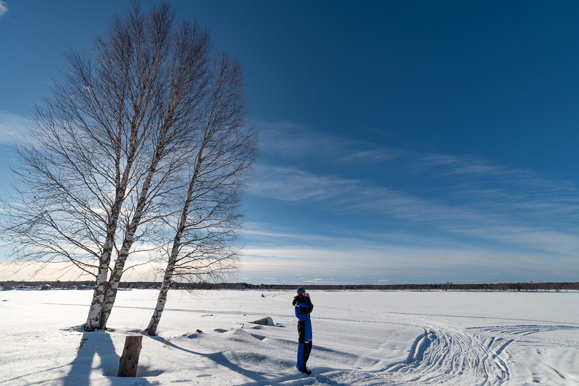 La pace dei sensi immersi in un paesaggio artico della Lapponia