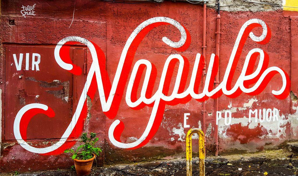 Murale nel Rione Sanità