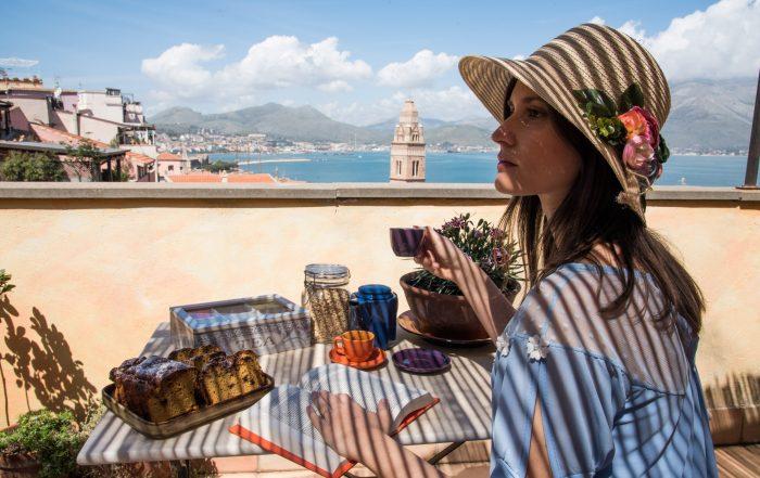 Dove dormire a Gaeta: B&B Millequattrocento - Terrazza panoramica