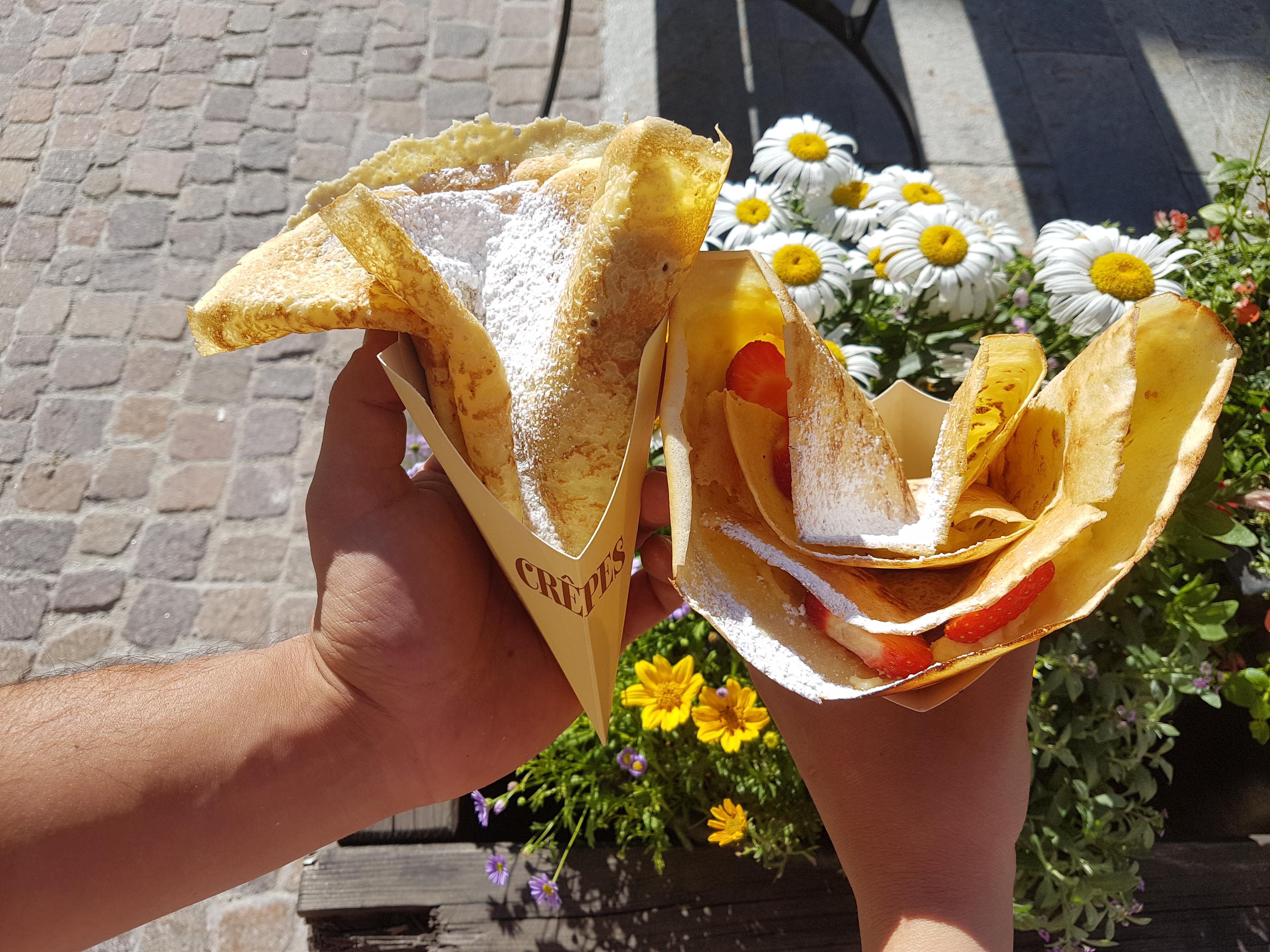 """Le crêpes della Pasticceria """"Pasta fresca"""" di Madesimo"""