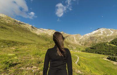 Aspettando il tramonto su Alpe Groppera