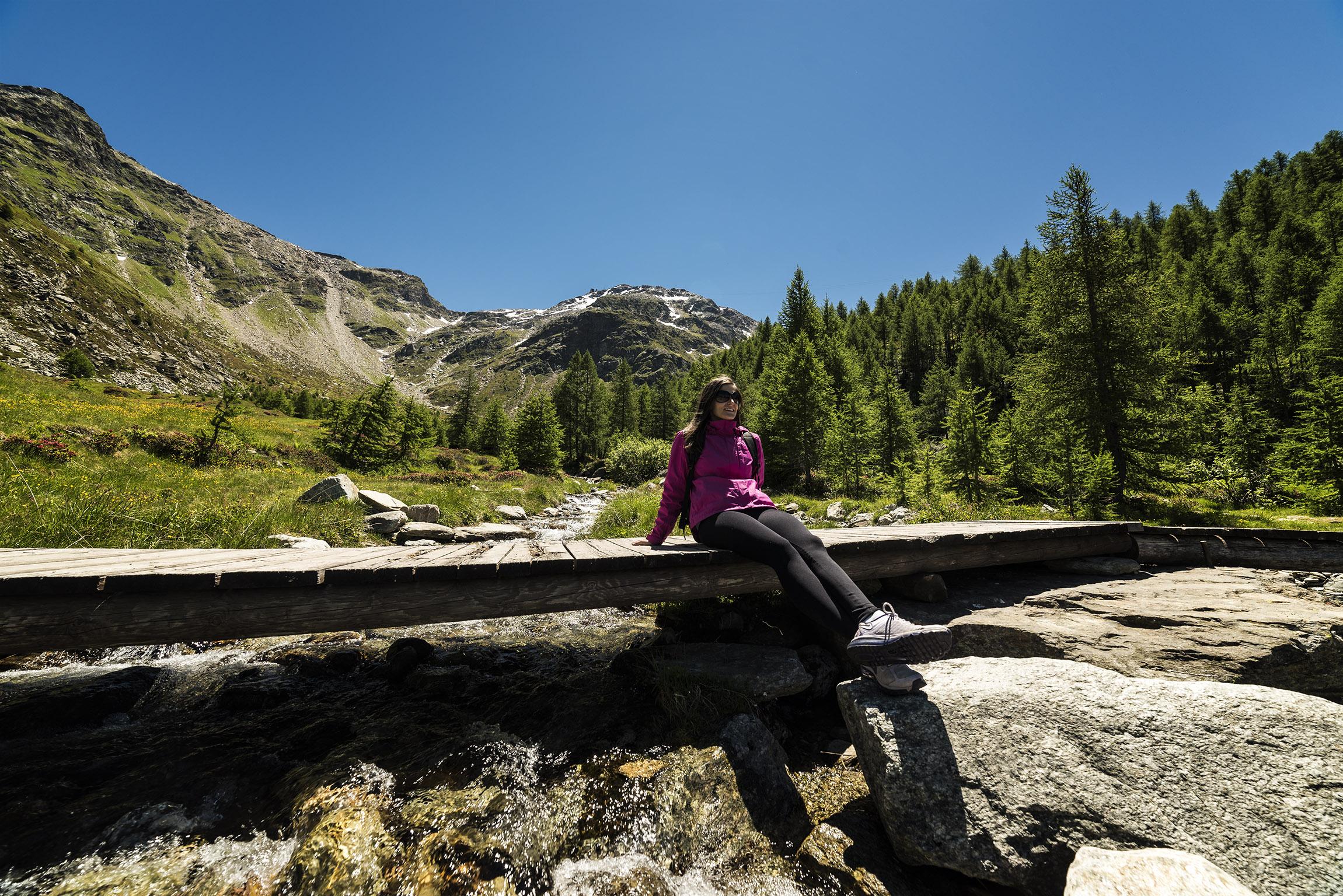 Sosta presso Alpe Groppera