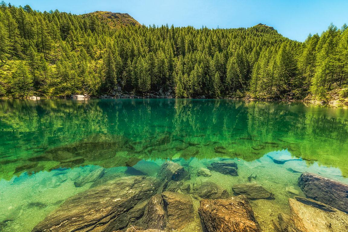 Acque del Lago Azzurro
