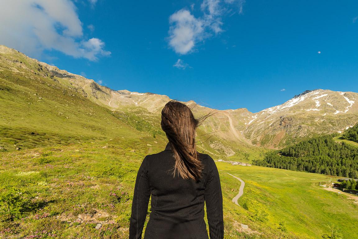 Valchiavenna: aspettando il tramonto su Alpe Groppera