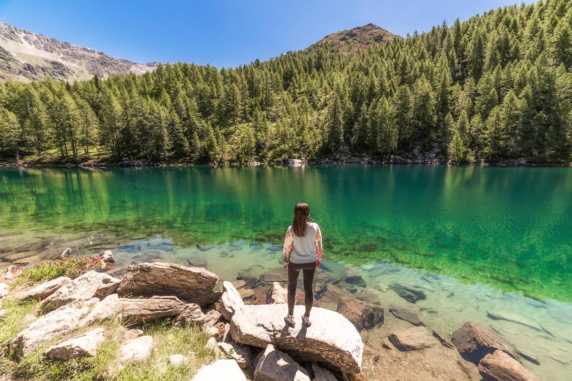 Valchiavenna: il Lago Azzurro