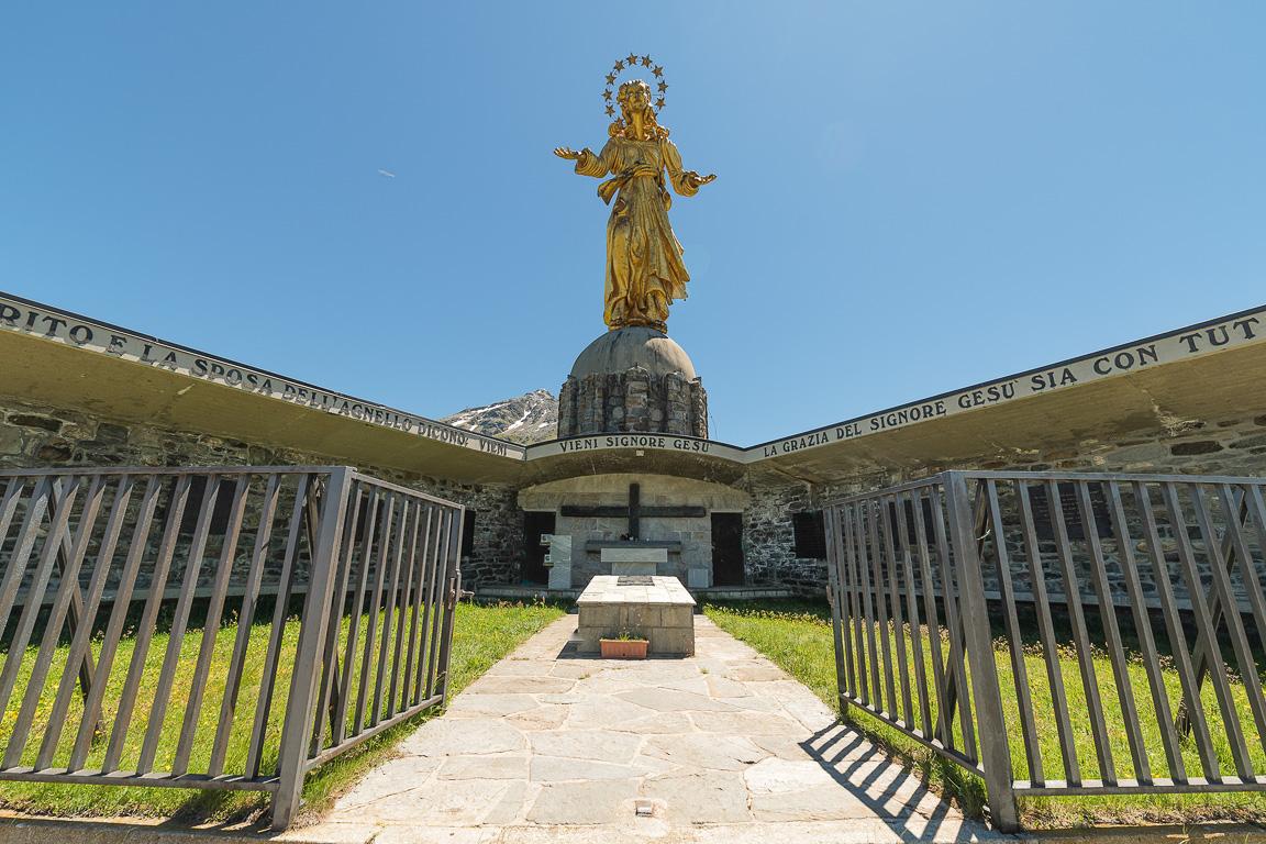 Valchiavenna: la Madonna d'Europa