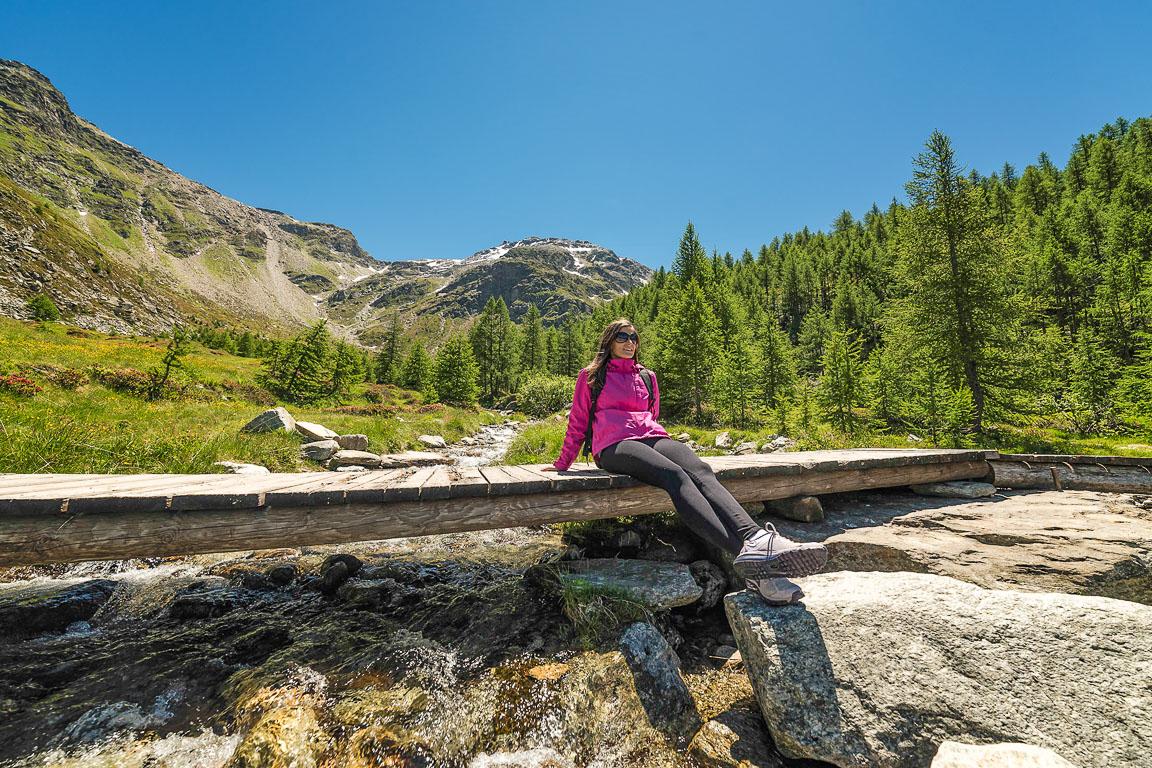Valchiavenna: sosta presso Alpe Groppera