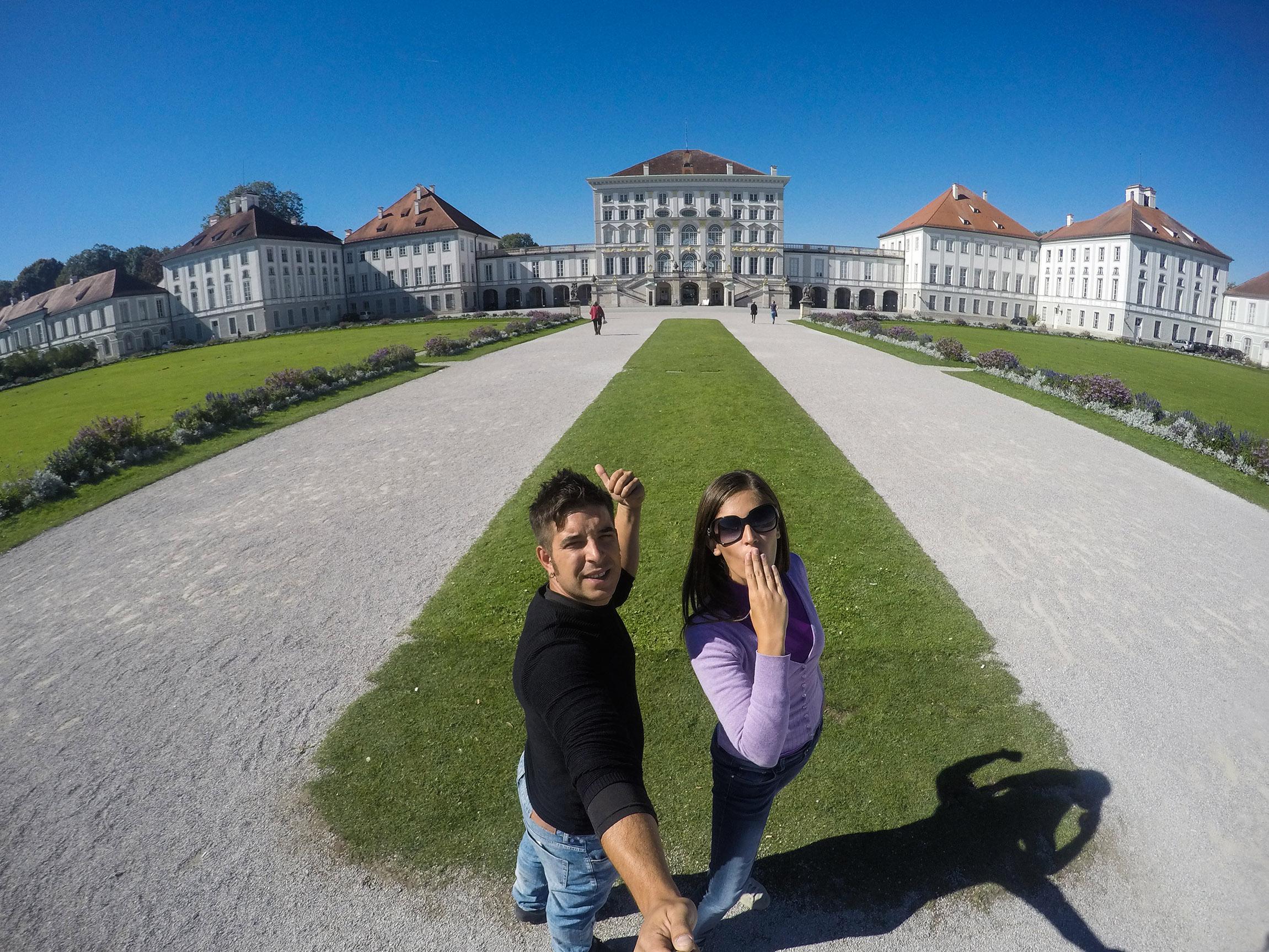 Il Palazzo di Nymphenburg - Monaco di Baviera