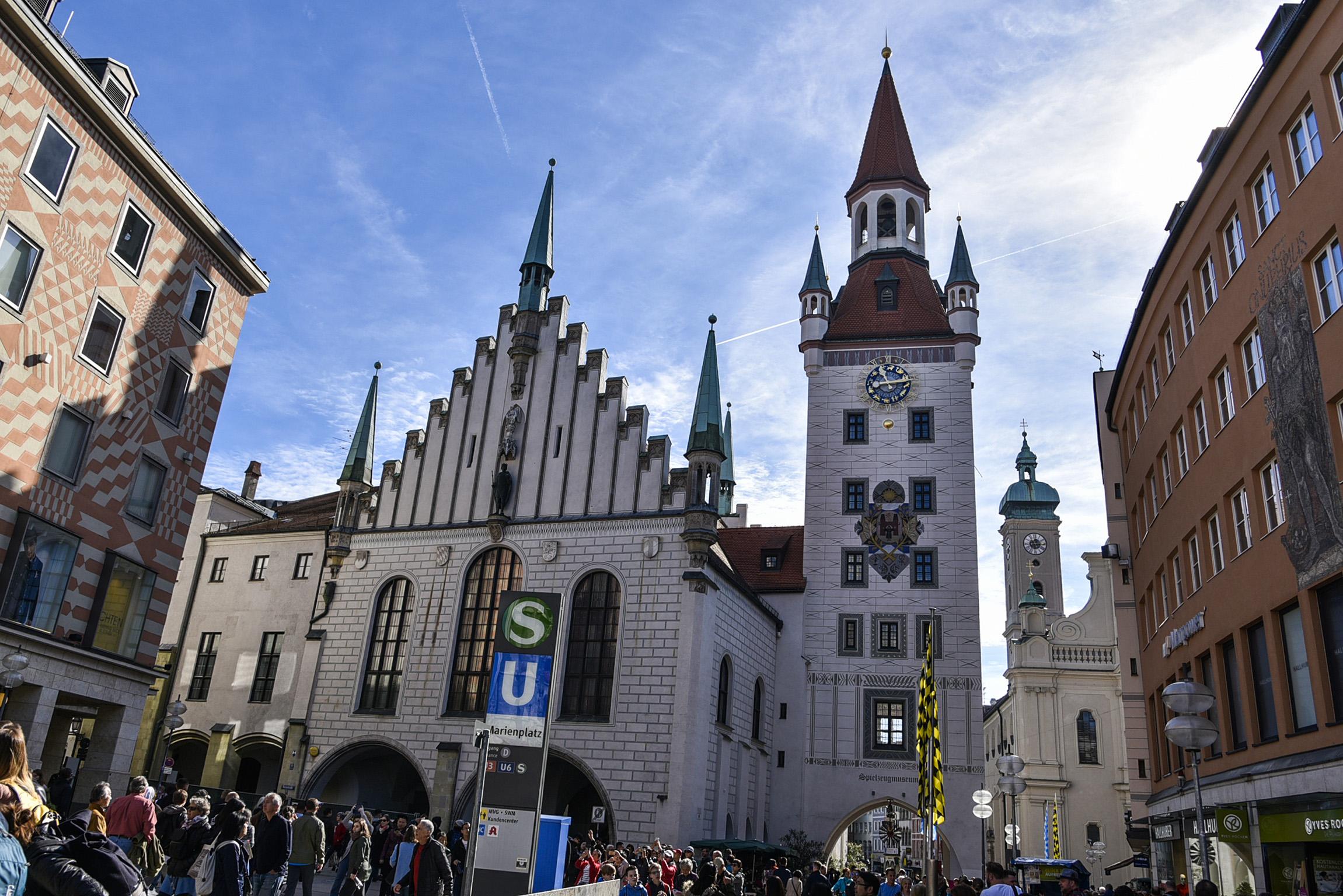 Il Vecchio Municipio - Monaco di Baviera