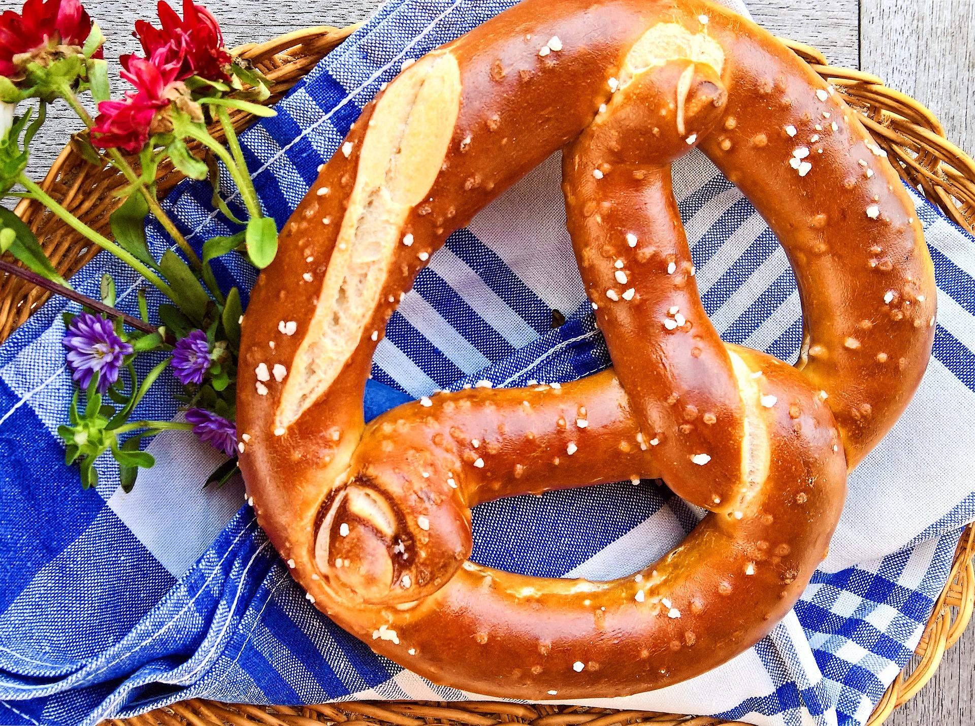 Bretzel, tipico pane della cucina bavarese