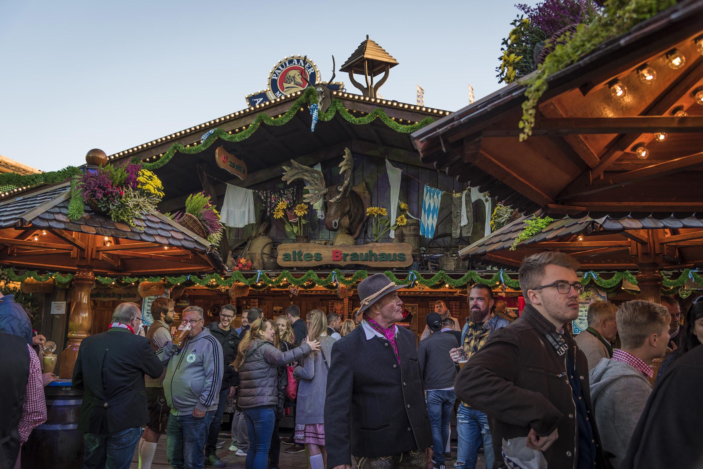 Stand presso l'Oktoberfest - Monaco di Baviera