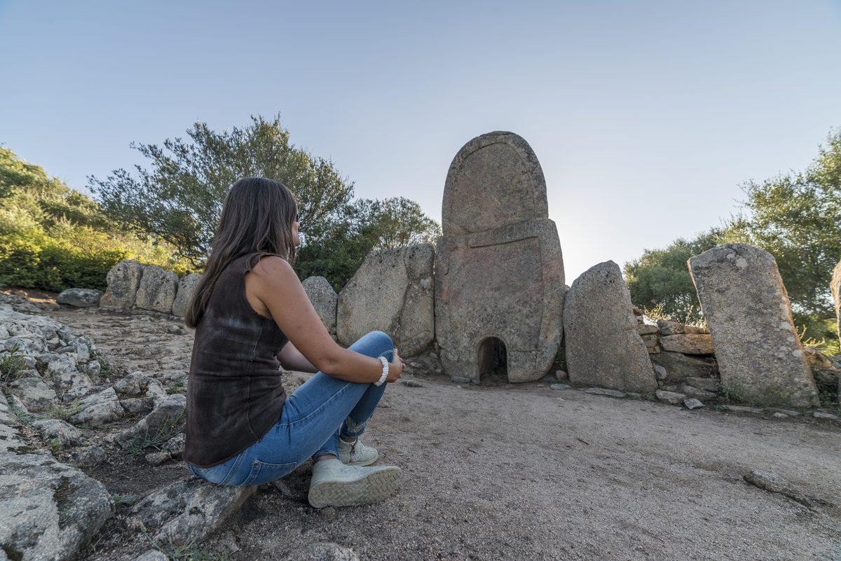 La Tomba dei Giganti di Coddu 'Ecchju