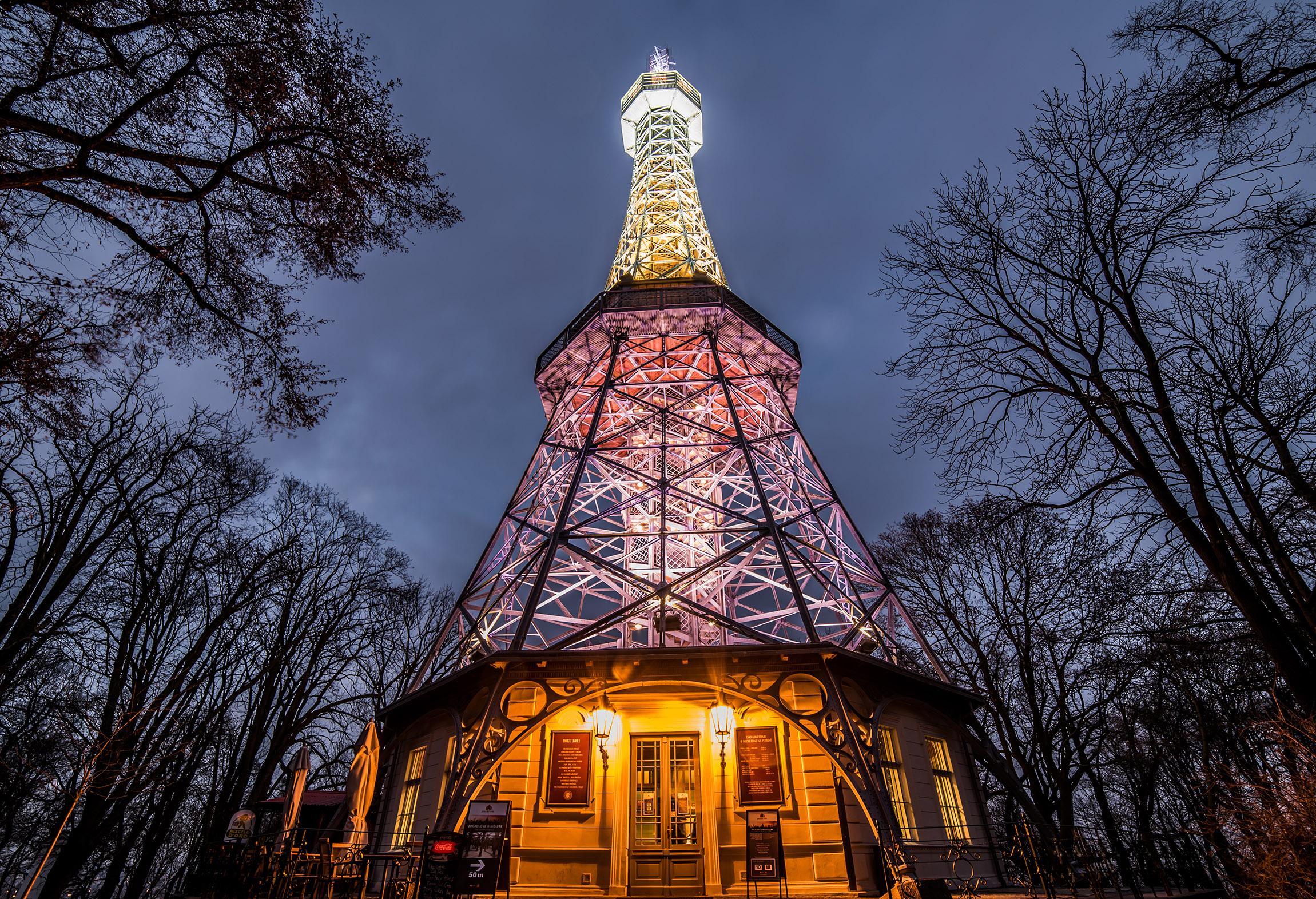 Torre panoramica del Petřín