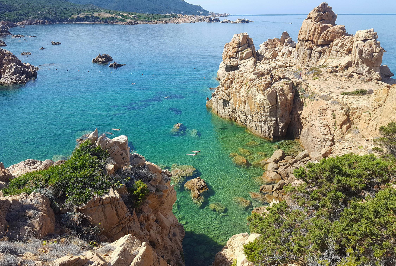 Trasparenze dal sentiero per arrivare a Li Cossi - Costa Paradiso