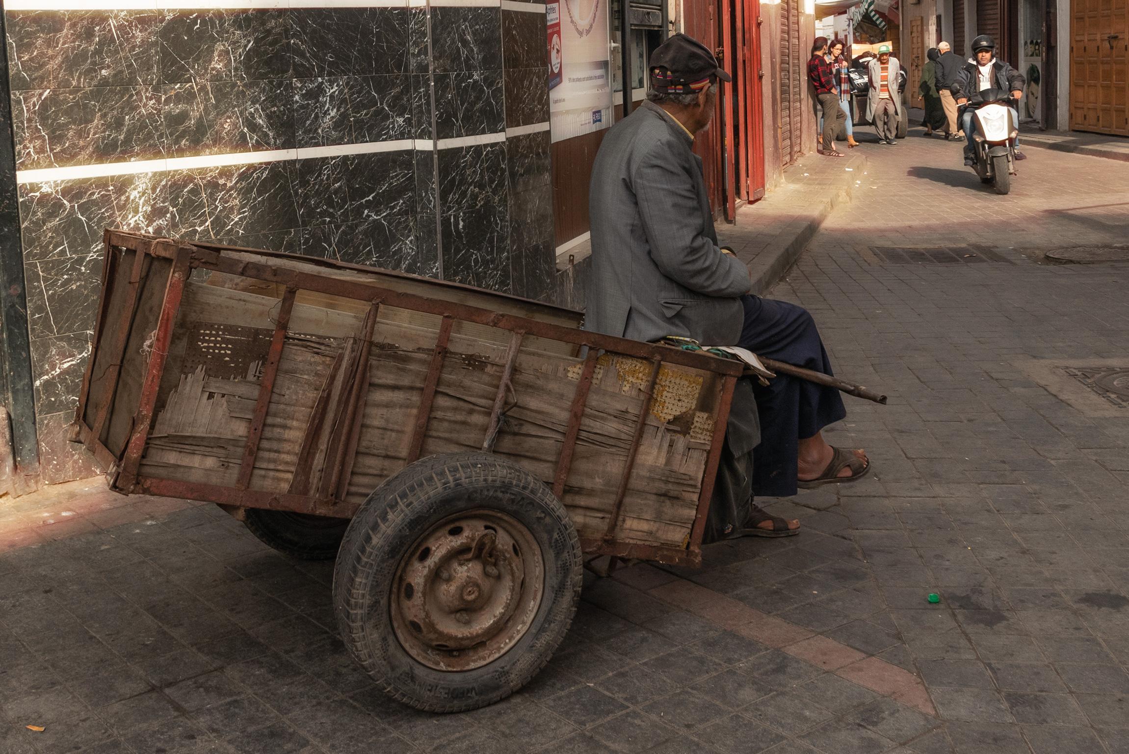 Scene quotidiane della Vecchia Medina di Casablanca