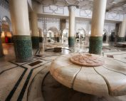 Sala delle abluzioni all'interno della Moschea di Hassan II