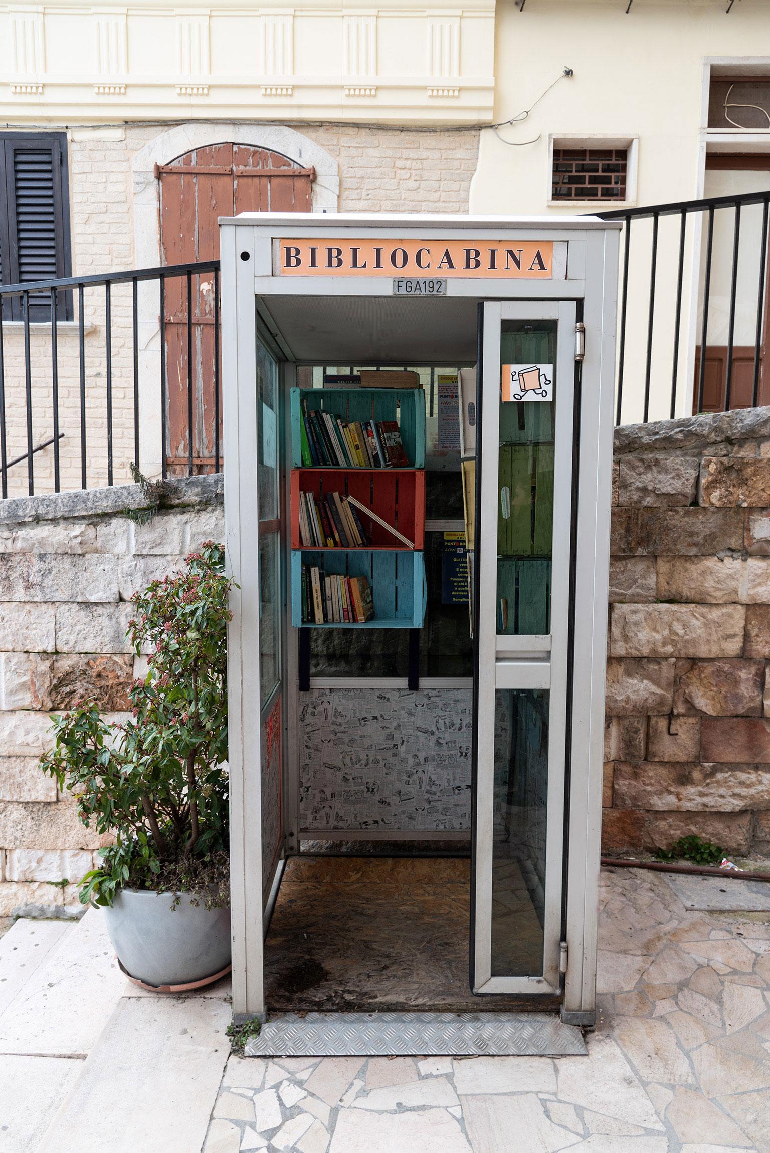 La Bibliocabina, Sant'Agata di Puglia