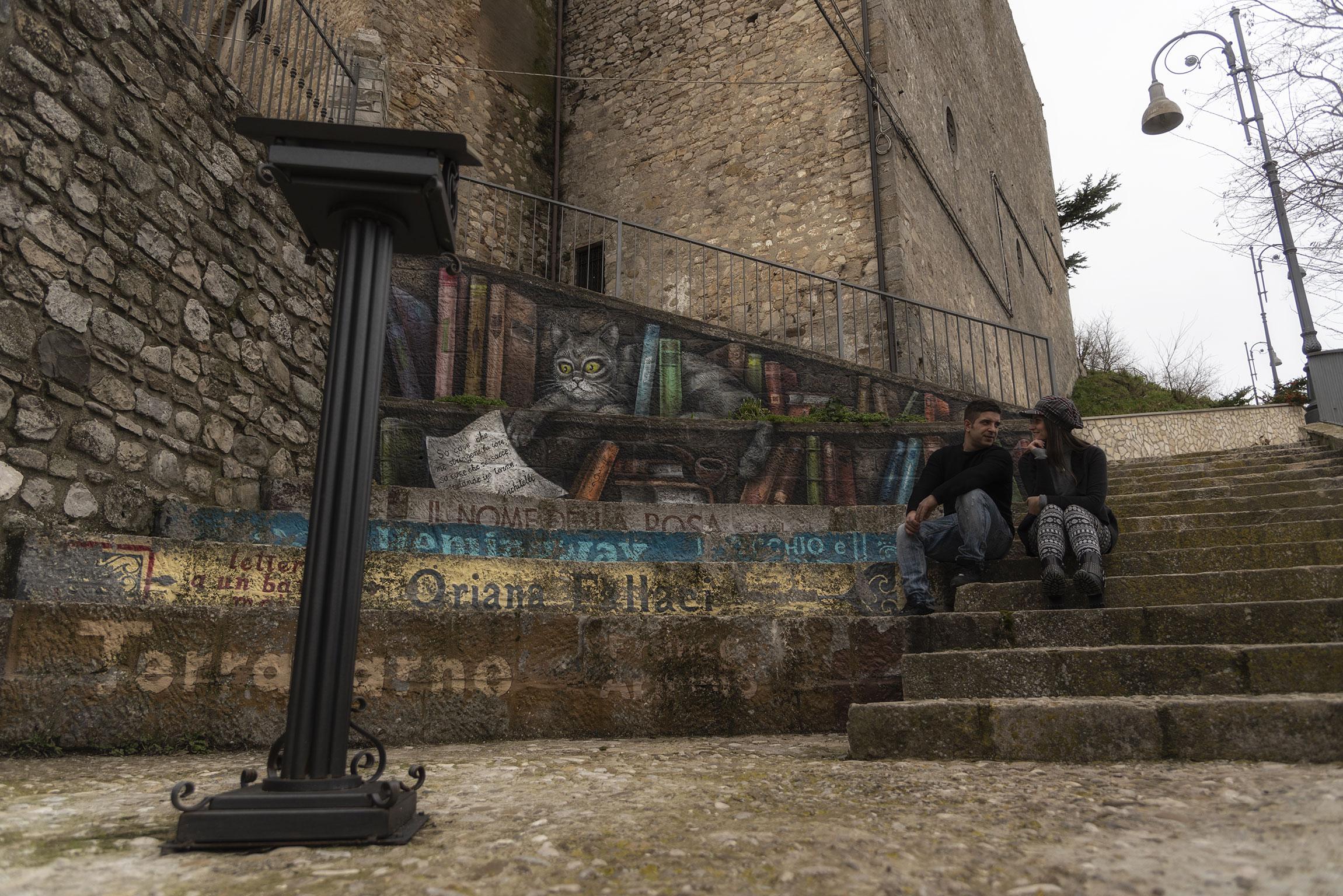Piazzetta della Lettura, Sant'Agata di Puglia