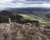 Panorama dalla camminata del Castello di Sant'Agata di PugliaPanorama dal Belvedere di Sant'Agata di Puglia