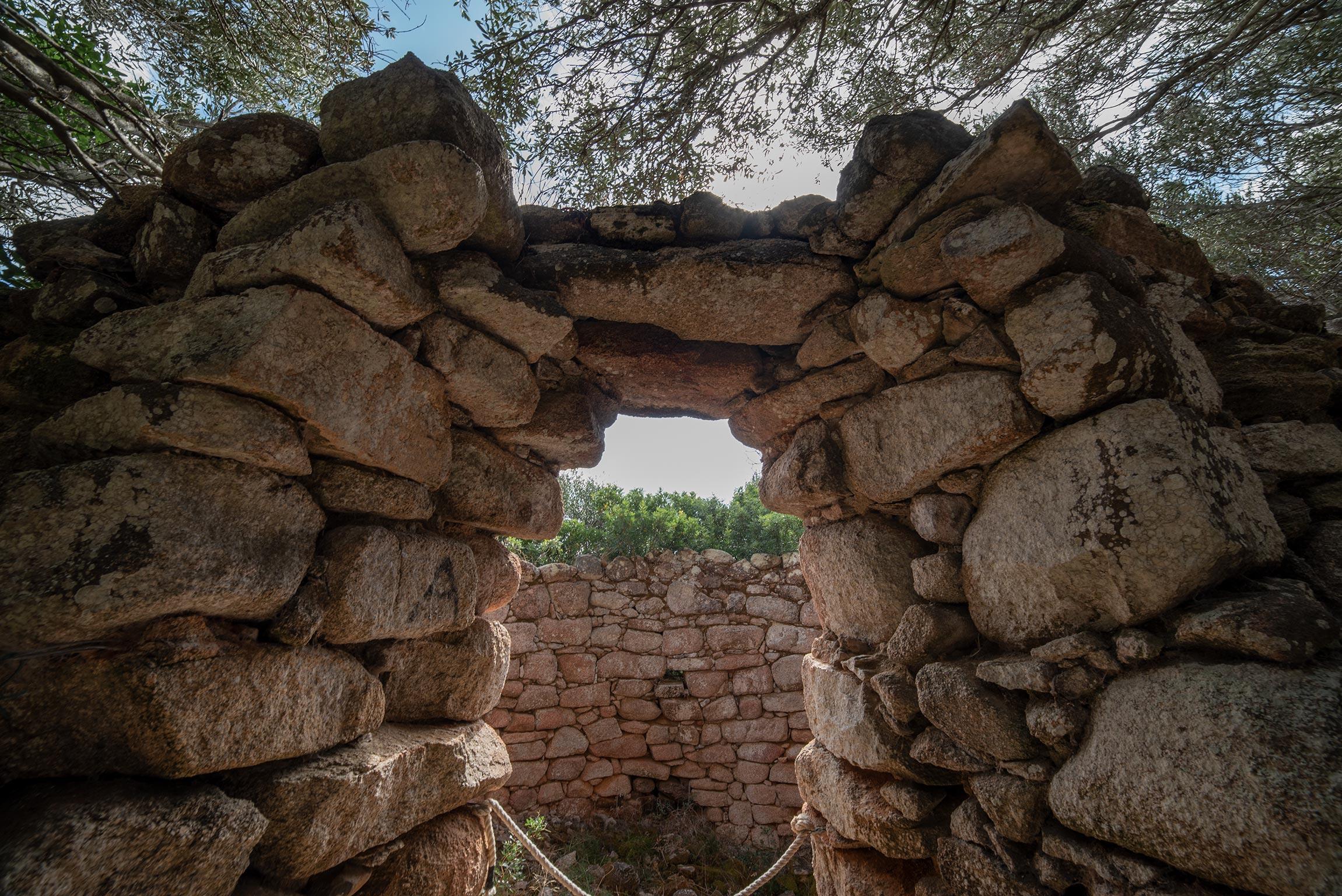 Torre visitabile del Sito archeologico Lu Brandali