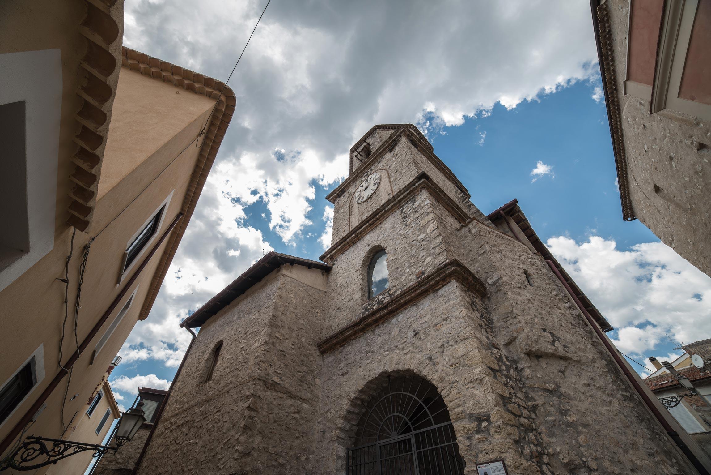 Campanile della Chiesa di Santa Maria dei Martiri