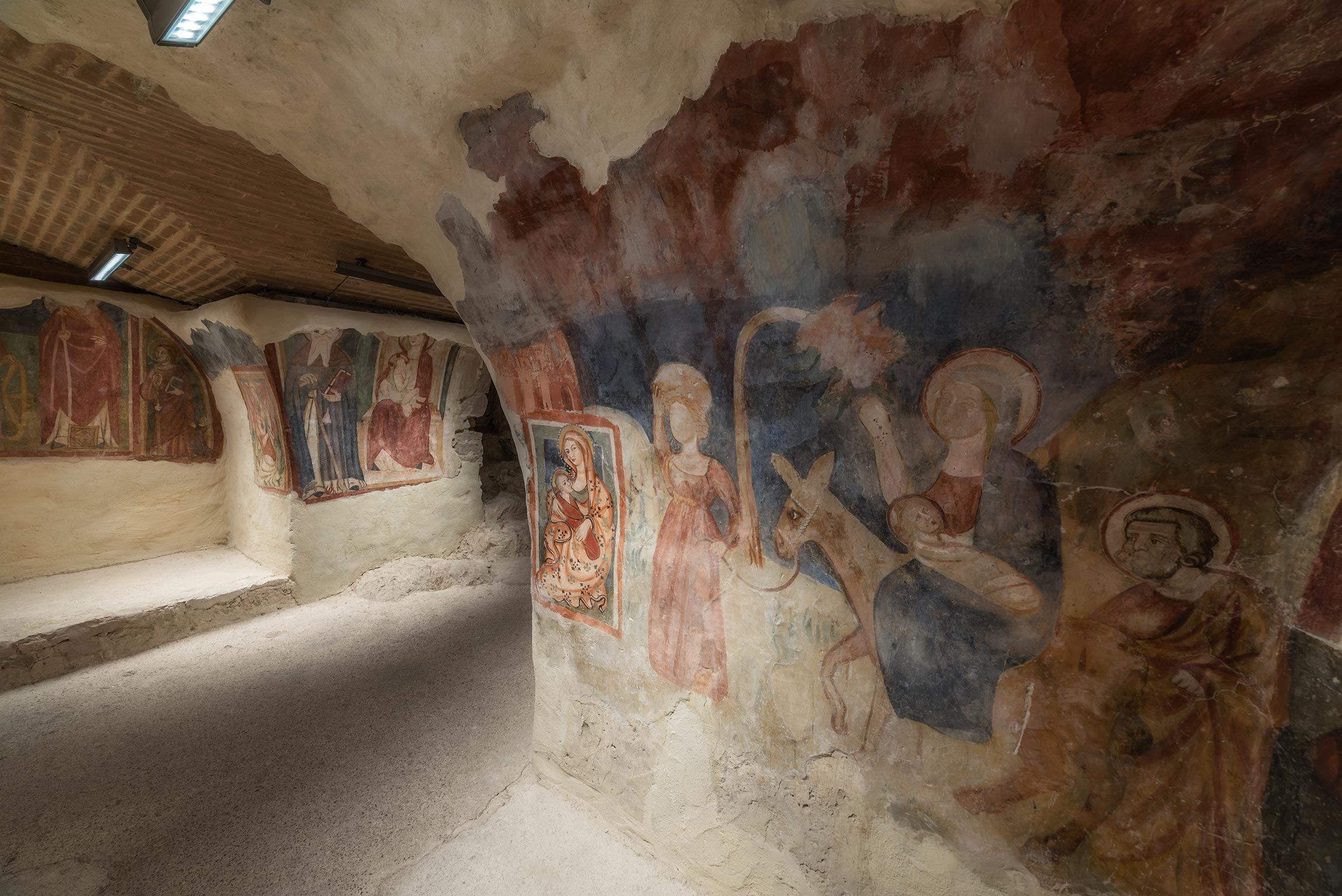 Cripta della Madonna del Latte - Maranola