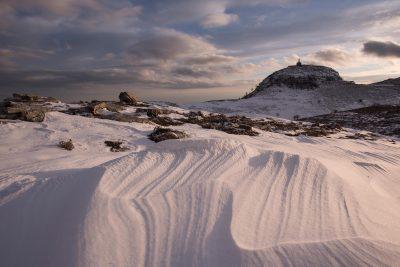 Monte Redentore in inverno - Parco dei Monti Aurunci
