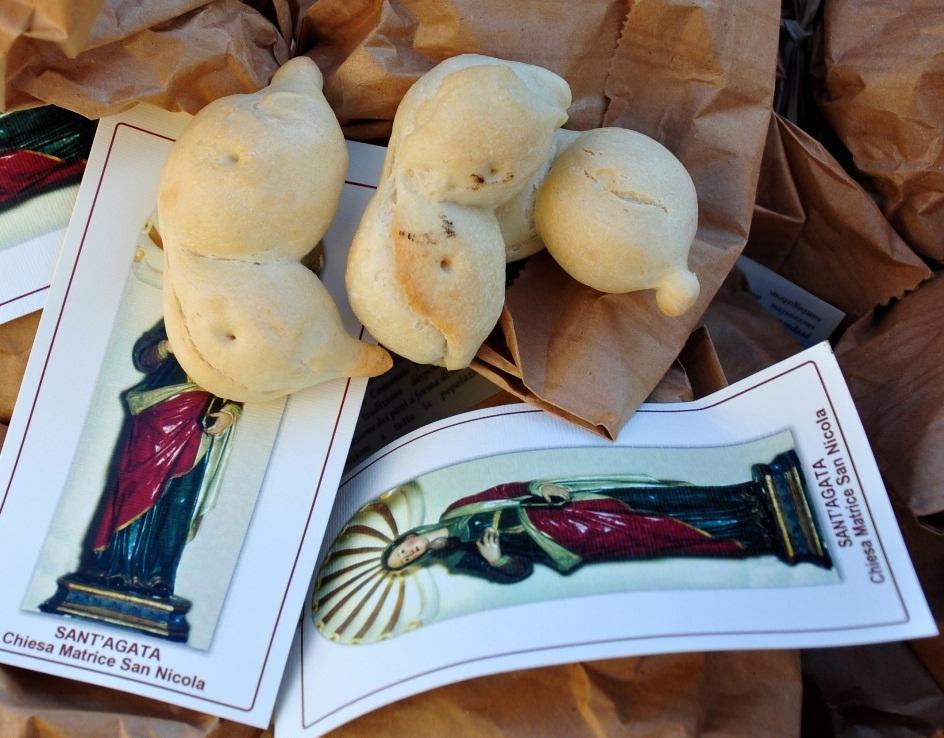 Mammelle di Sant'Agata - feste e tradizioni