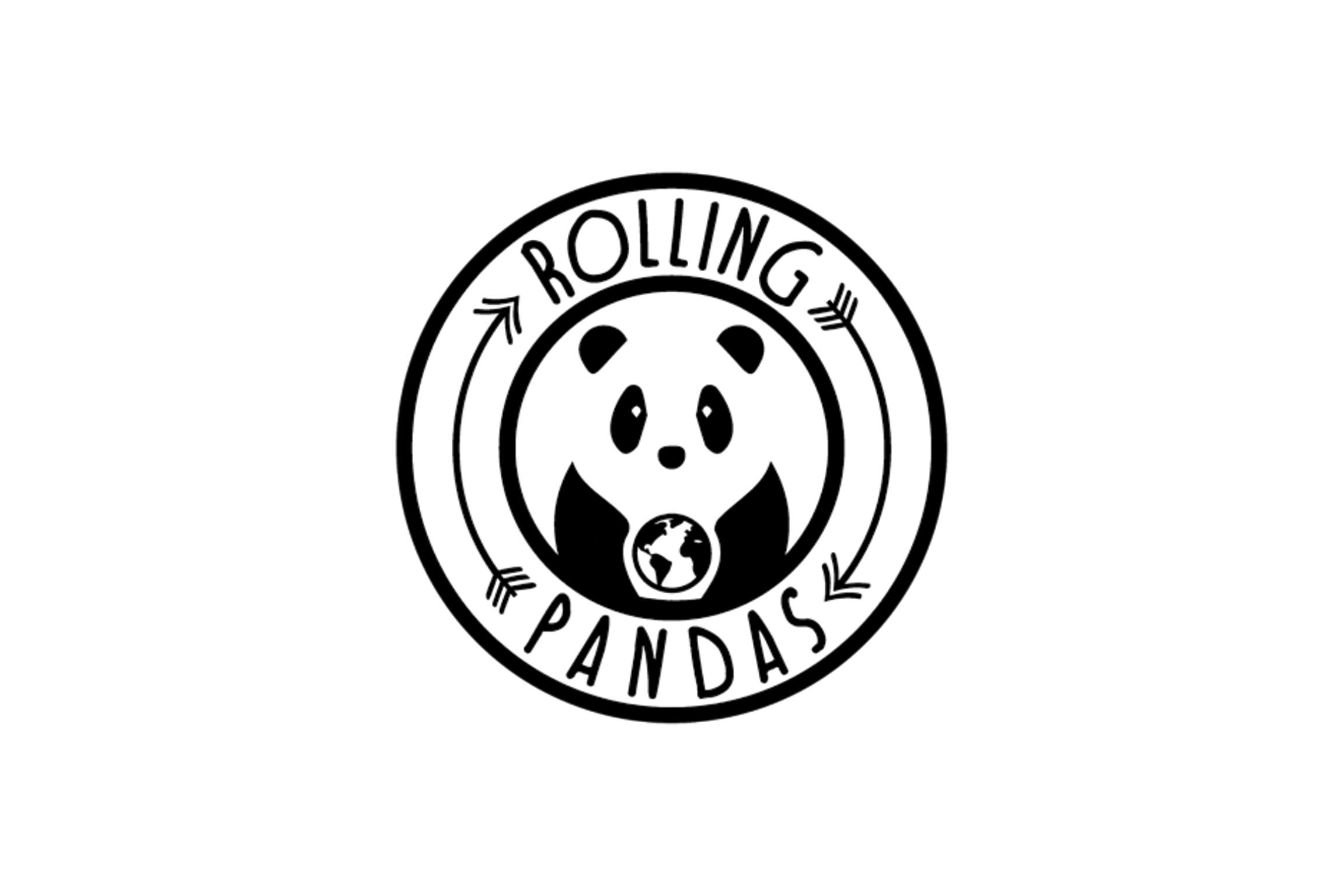 Logo Rolling Pandas