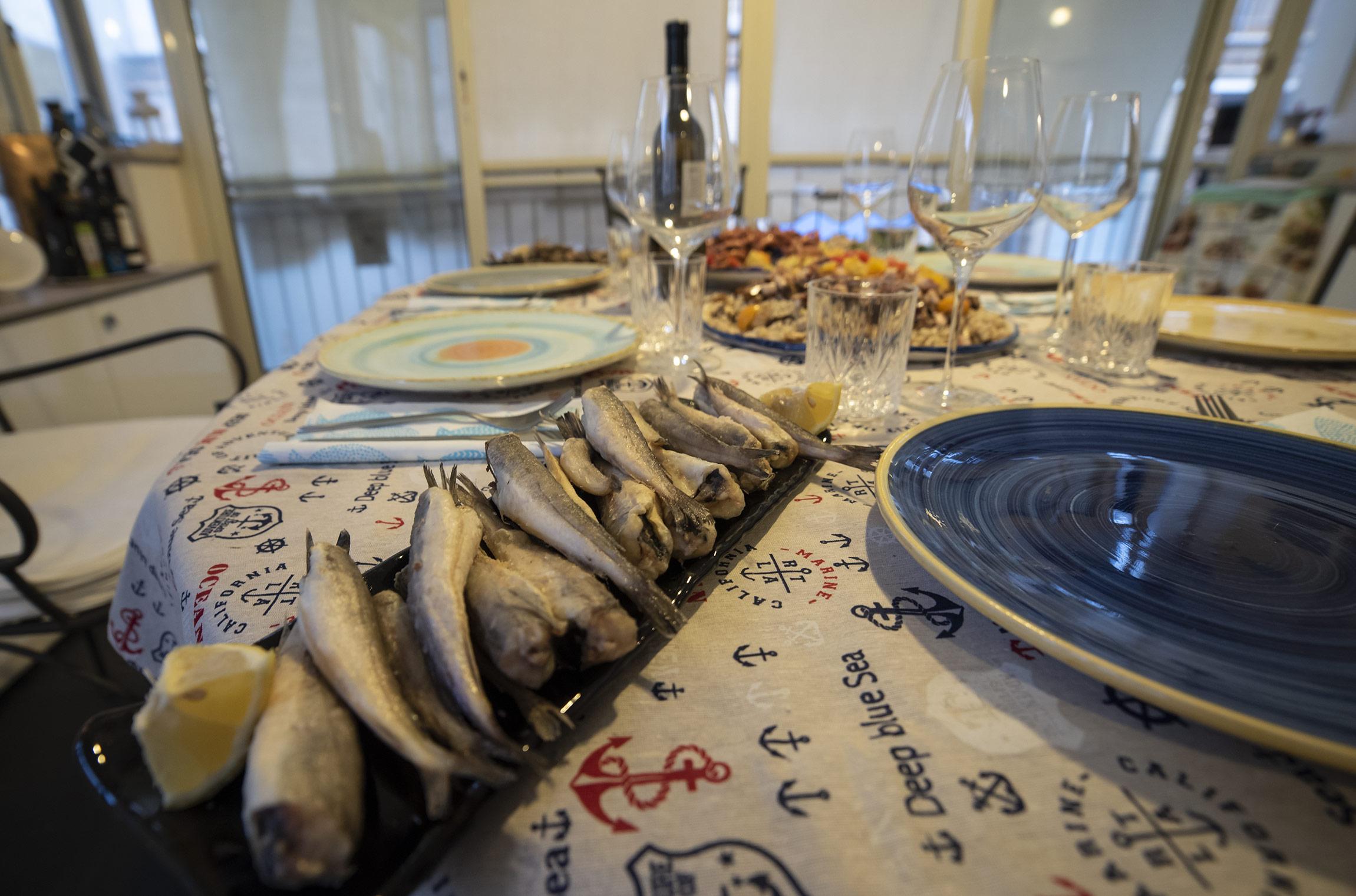 """Frittura di merluzzi - Home restaurant """"A CASA DI MARCO"""""""