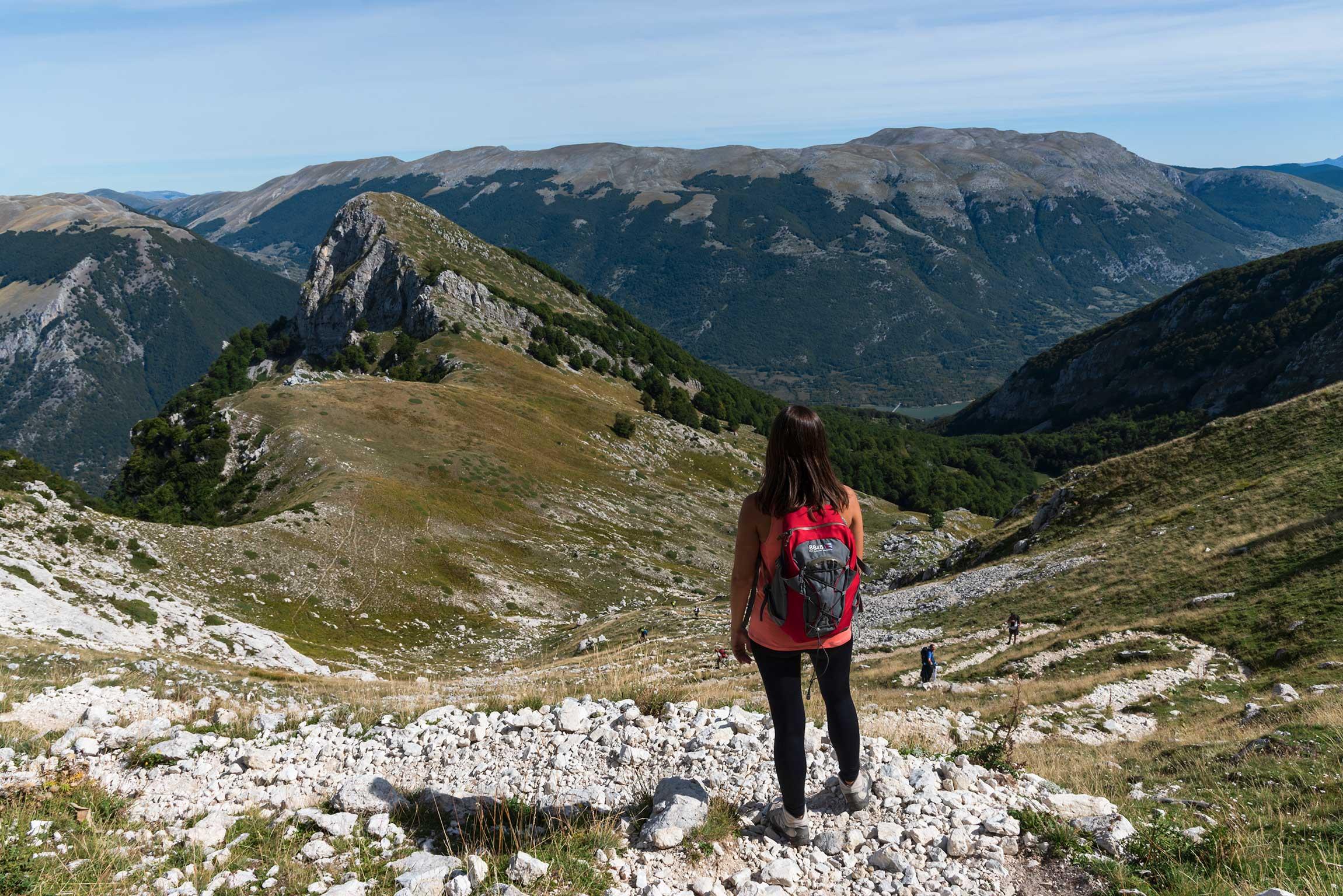 Panorama nei pressi di Passo Cavuto, Val di Rose
