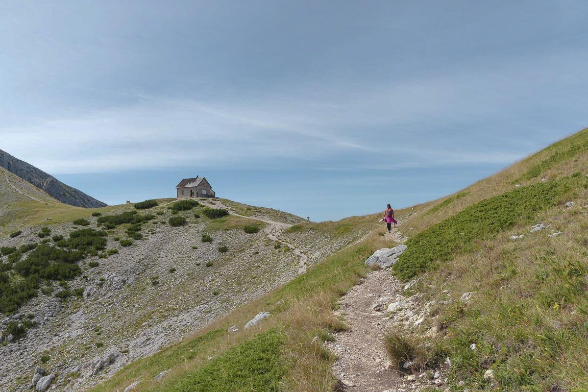 Rifugio di Forca Resuni, Parco nazionale d'Abruzzo, Lazio e Molise