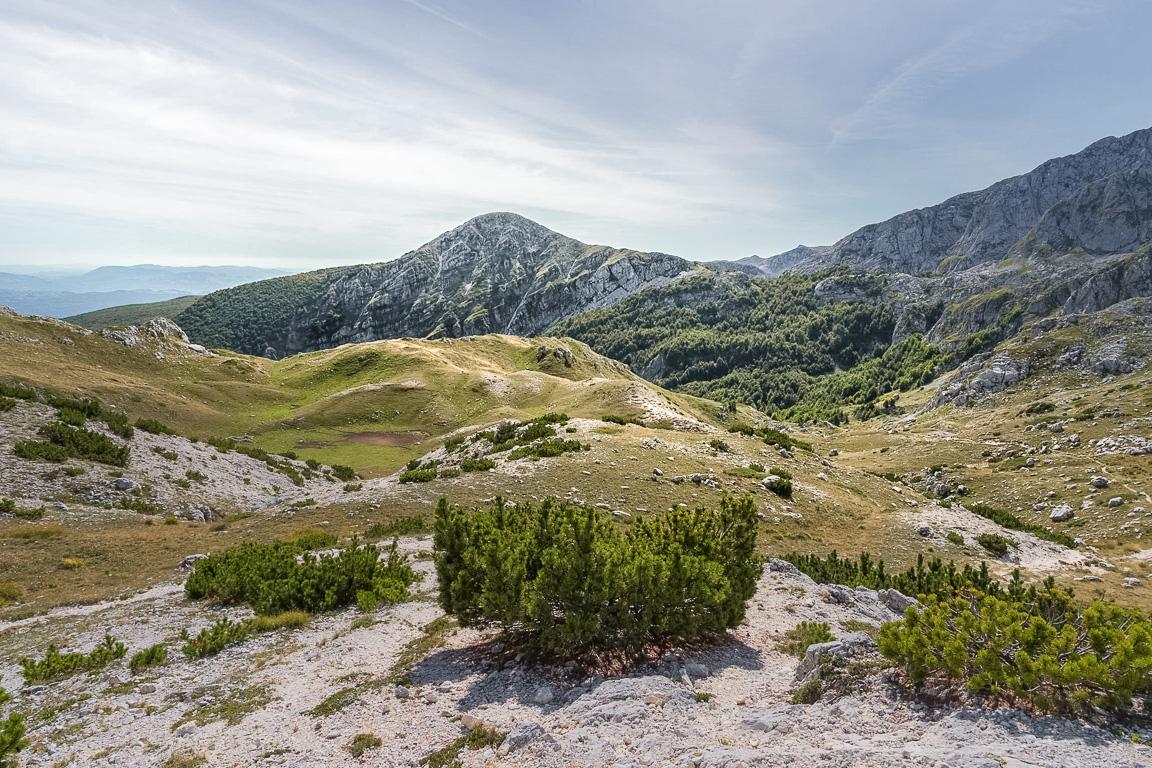 Tipico paesaggio del Parco nazionale d'Abruzzo, Lazio e Molise