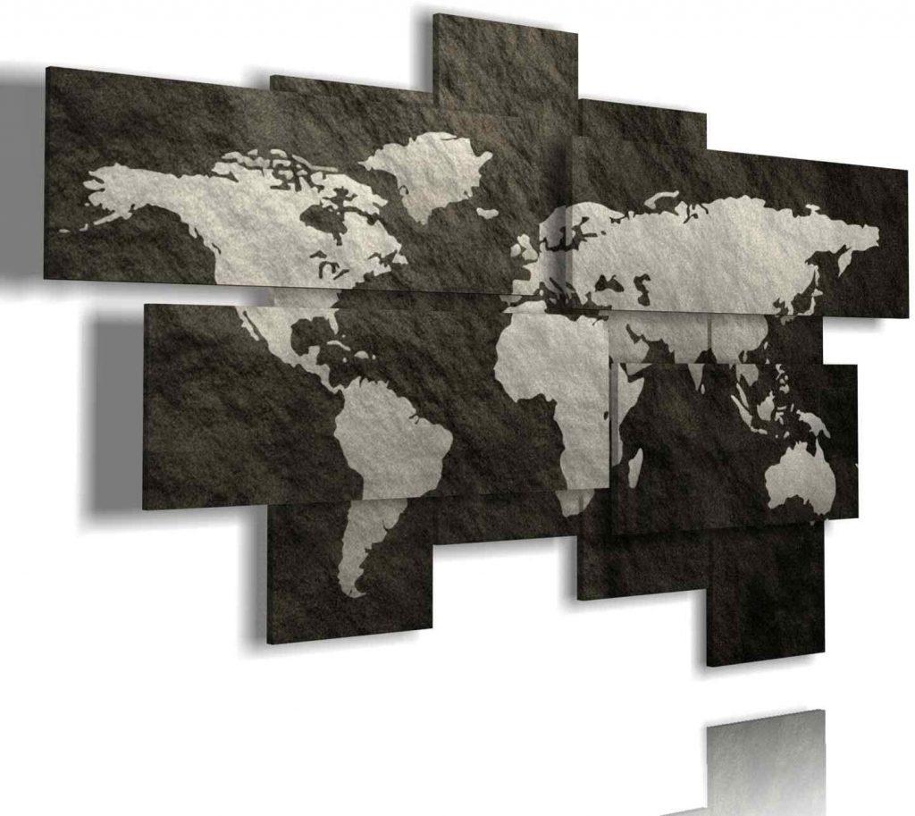 Cosa regalare a un viaggiatore creativo: mappa da parete