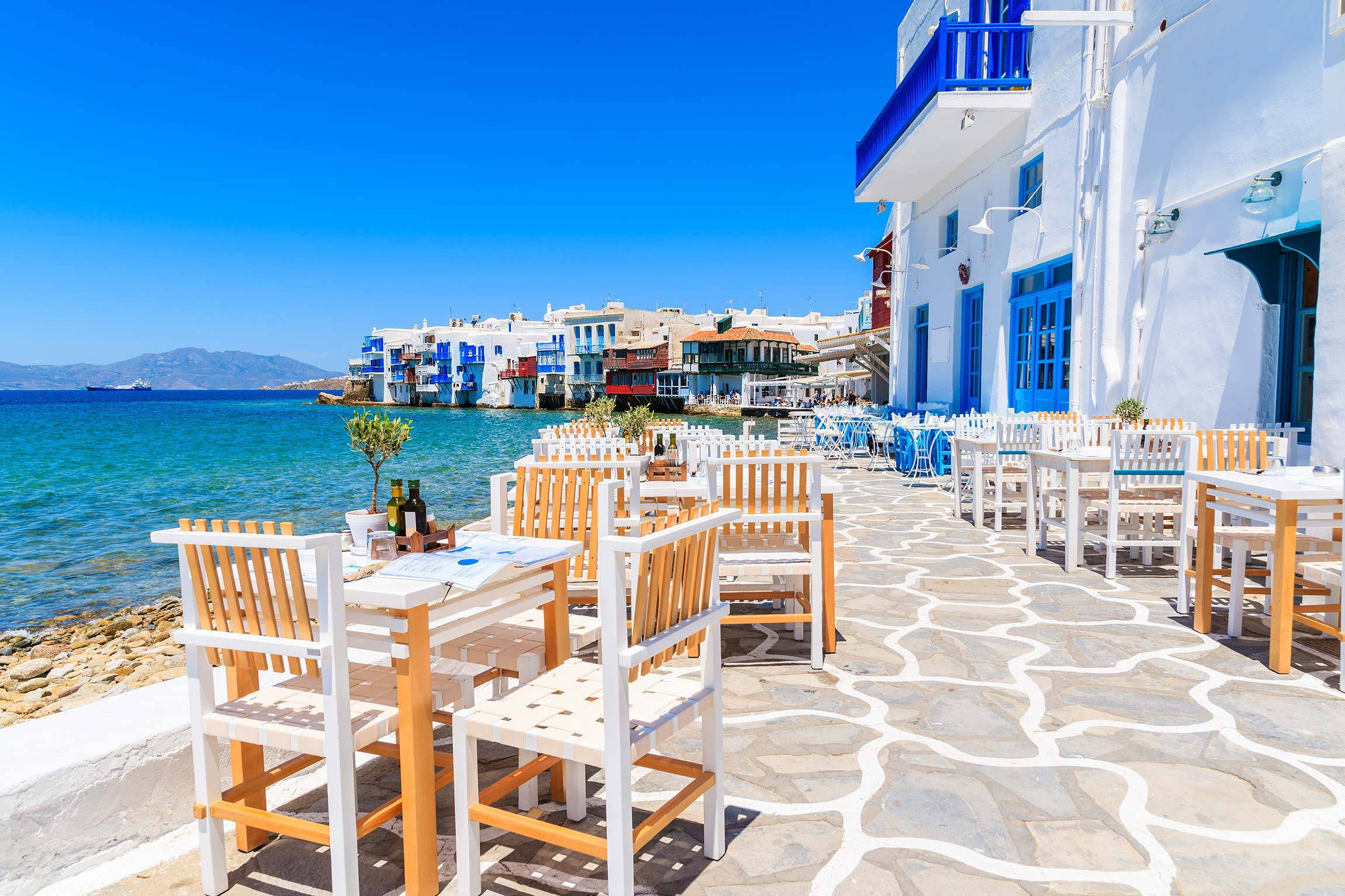 Divertimento in Grecia: Mykonos