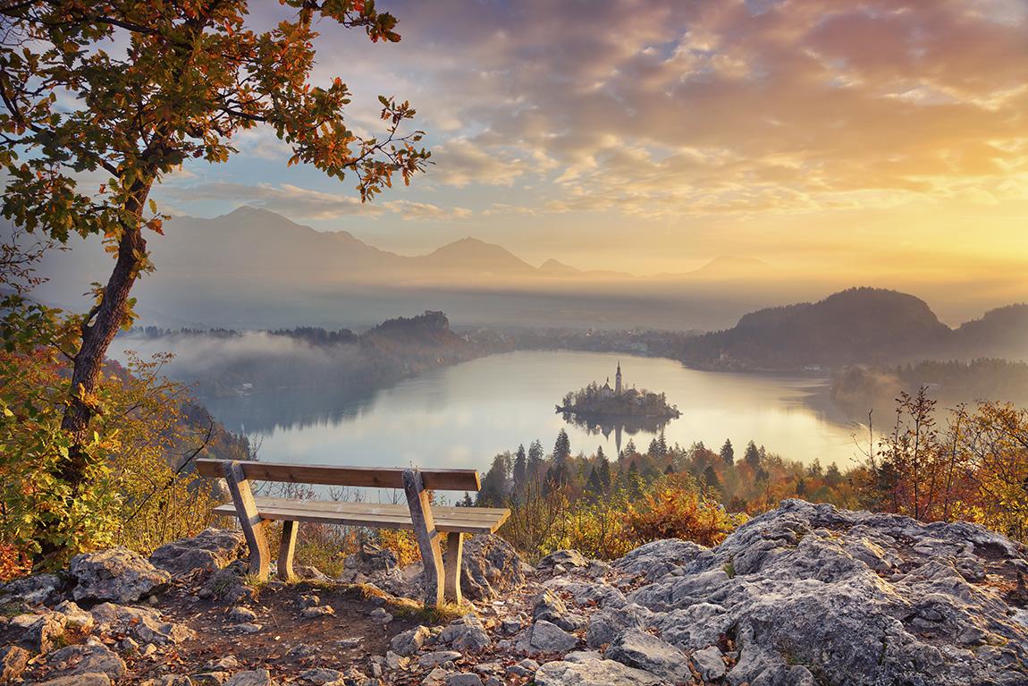 Luoghi più romantici in Europa: Lago di Bled (Credits: rudi1976)