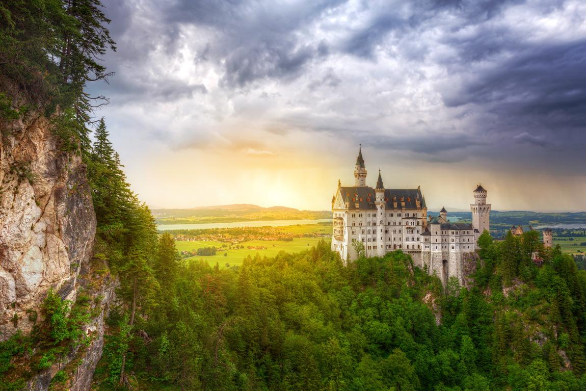 Luoghi romantici in Europa: Neuschwanstein Castle (Credits Patryk Kosmider)