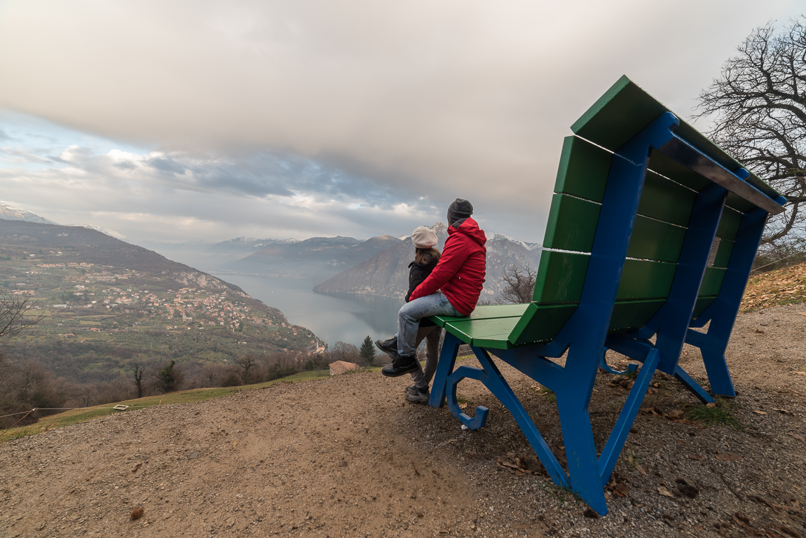 Weekend sul Lago d'Iseo: Panchina Gigante Riva-Fonteno