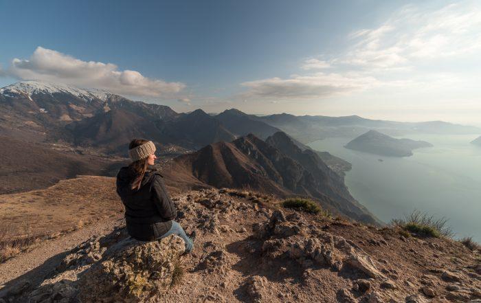 Panorama dalla cima della Corna Trentapassi