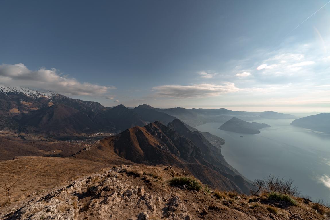 Weekend sul Lago d'Iseo: panorama da Corna Trentapassi