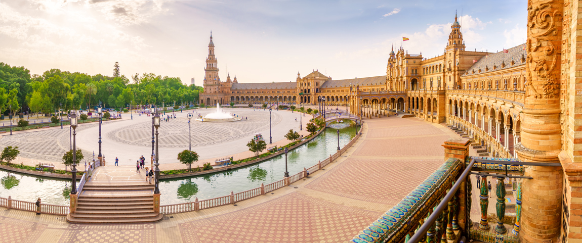 Plaza de España, Siviglia (Credits LucVi)