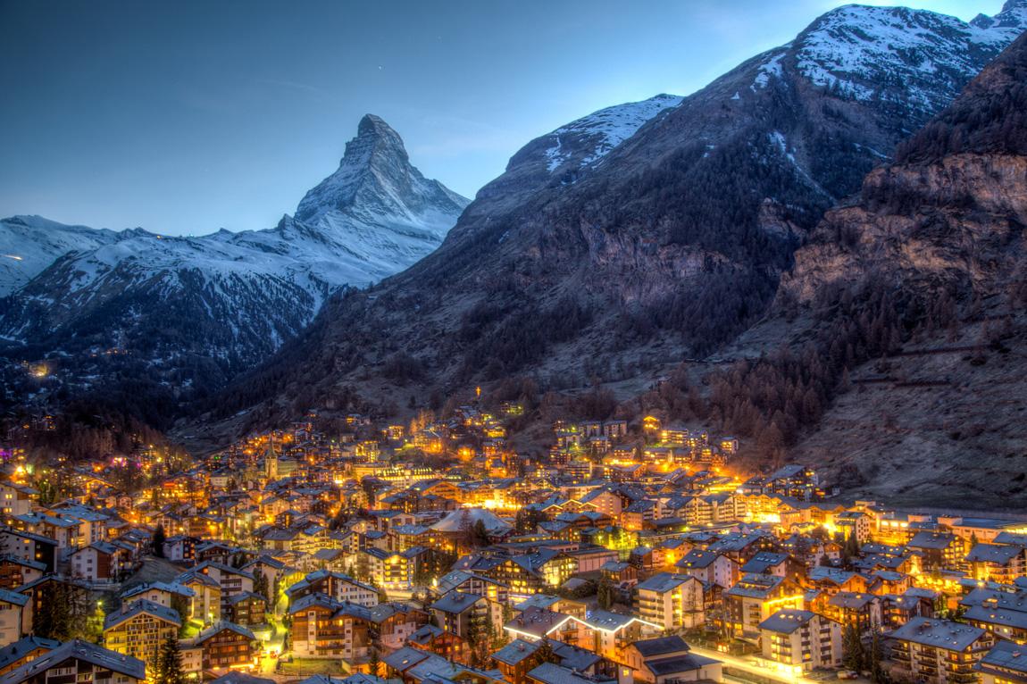 Luoghi romantici in Europa: Zermatt (Credits OliverFoerstner)