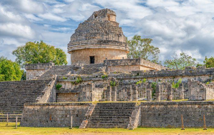Siti maya da vistare: El Caracol - Chichén Itzá (Credits skostep)