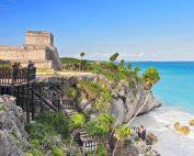 El Castillo a Tulum con vista sull'oceano (Credits Cezary Wojtkowski)