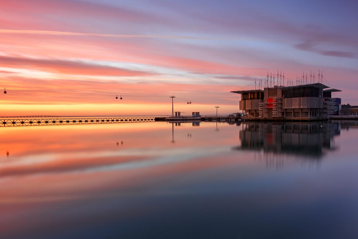 Lisbona in 4 giorni: Oceanário all'alba