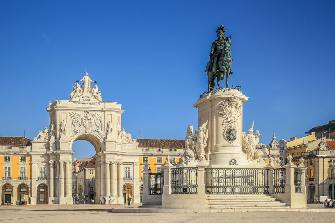 Lisbona in 4 giorni: Praça do Comércio